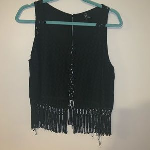 Boho tassel forever 21 cover up top
